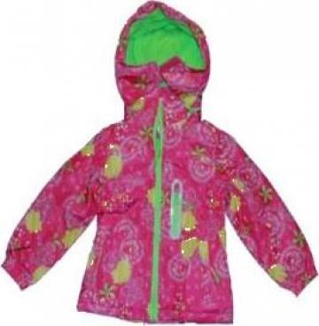 Geaca iarna, roz, fete de la A&P Collections Online Srl-d