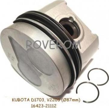 Piston kit Kubota D1703, V2203, Bobcat 753, 763, 773, (87mm)