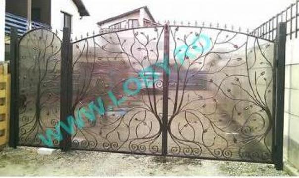 Garduri si porti din fier forjat Natura de la Loby Design