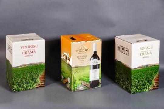 Cutii BIB pentru vin, cutii cadou de la Total CMYK & Services Srl