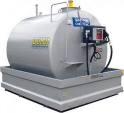 Rezervor motorina Cube 70 - 5000 litri de la Eco Industry Solutions