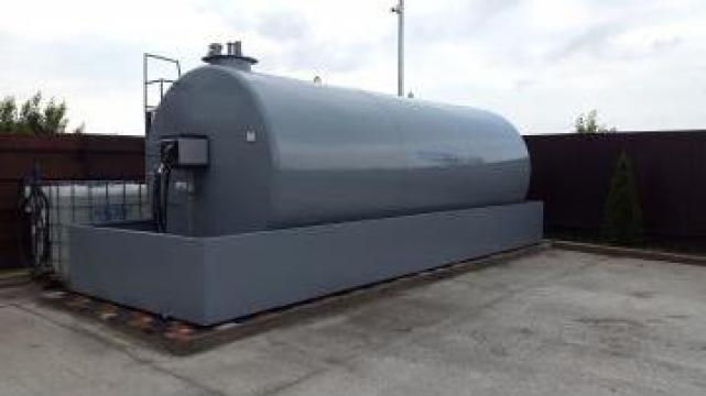 Rezervor bazin tank motorina 15000litri cu pompa cu gestiune de la Simba's Group Srl
