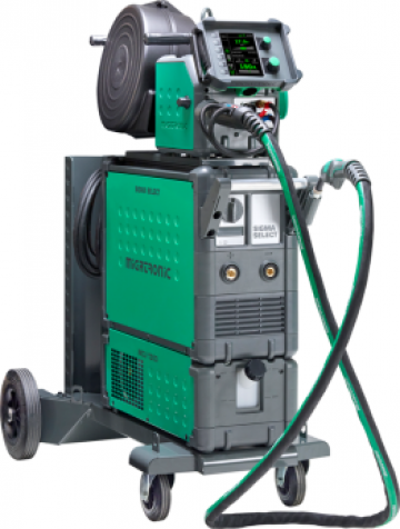 Aparat sudura Migatronic Sigma Select Graphic 550 S-V de la Bendis Welding Equipment Srl