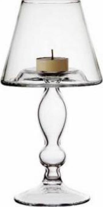 Sfesnic din sticla cu toarta metalica Vidivil Banquet de la Basarom Com