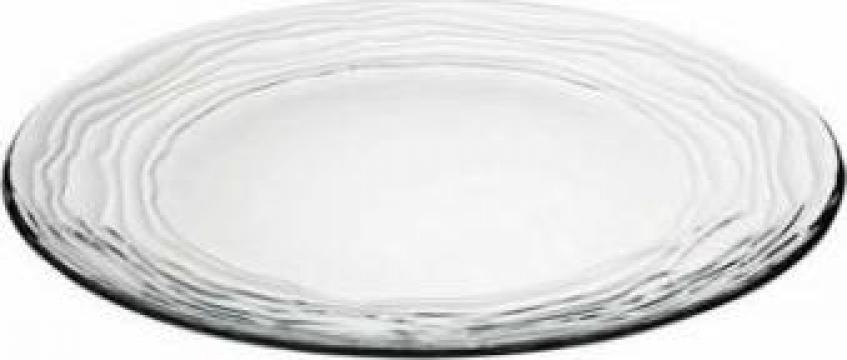 Farfurie intinsa din sticla temperata Vidivil colectia Oasi de la Basarom Com