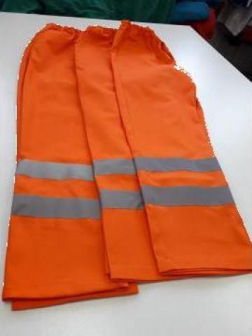 Pantaloni de lucru portocalii