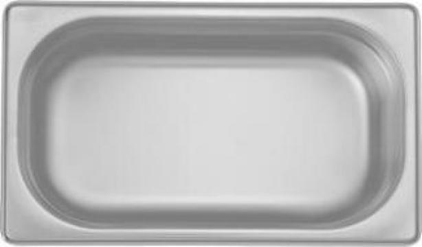 Tava inox gastronorm Ozti 1-4 GN 100x265-162mm 2,8litri