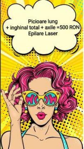 Epilare laser