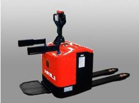 Transpalete electrice cu platforma 1,3 tone de la Electrofrane