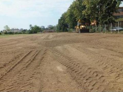 Decopertari terenuri pentru constructii de la Trans Udroiu Srl