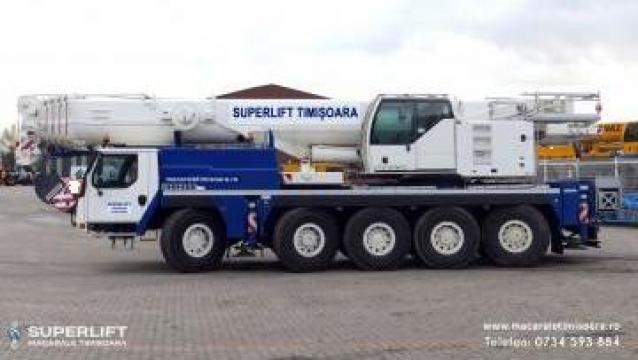 Inchiriere macara Liebherr LTM 1100 - 5.2 de la Superlift Timisoara Srl