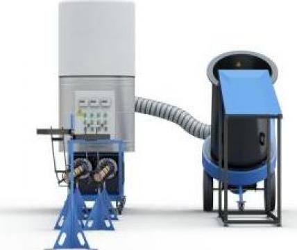 Linie brichete biomasa de la Sc Pedrogroup Agro Srl