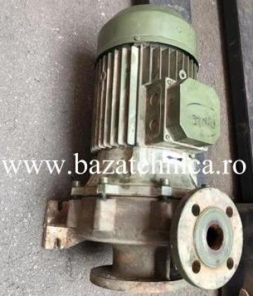 Reparatie pompa apa, 5,5 kw bobinaj, inlocuire presetupa de la Baza Tehnica Alfa Srl