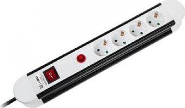 Prelungitor protectie la supracurent, 4 porturi 1.5m cablu de la Electro Supermax Srl