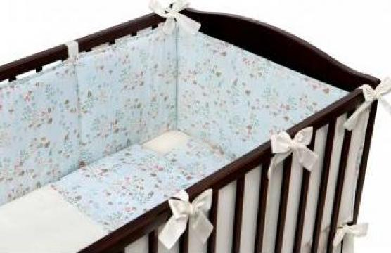 Set lenjerie pat bebe de la MC Ana Concept Srl