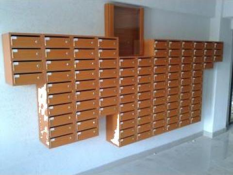 Cutii postale 80 apartamente de la Corban Mobila Srl