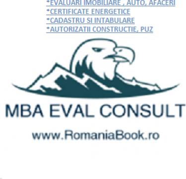 Evaluari ANEVAR cladiri, auto, stocuri de la MBA Eval Consult S.r.l.