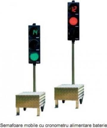 Semafoare mobile cu cronometru