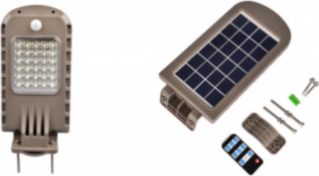 Corp iluminat solar LED 8W de la Samro Technologies Srl