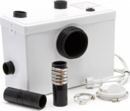 Pompa cu tocator wc Sanitrit H100 A+ de la Pro Mar Shop & Services SRL