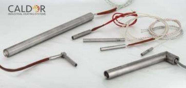 Rezistenta electrica de incalzire cartus inox de la Caldor Industrial Heating Systems Srl