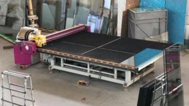 Utilaje productie geam termopan de la