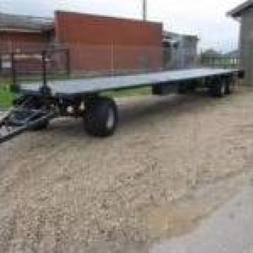 Trailer transport baloti cu obloane hidraulice RPP-20 T de la Sc Pedrogroup Agro Srl