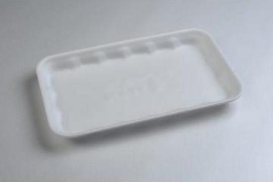 Tavita polistiren PT3-18 STD (225x135x18mm) 500 buc/bax de la Cristian Food Industry Srl.