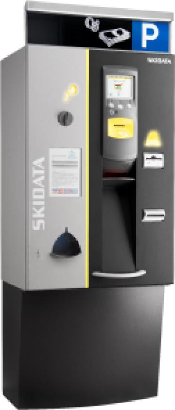Automat de plata pentru parcare de la Parking Experts Srl