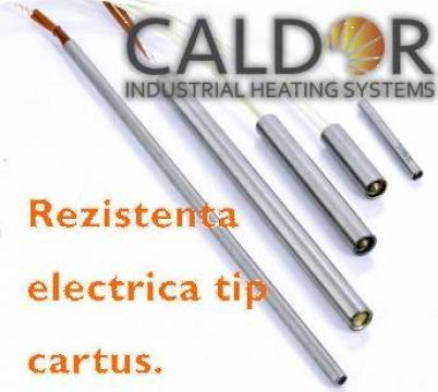 Rezistenta electrica cartus D10xL50x315W de la Caldor Industrial Heating Systems Srl