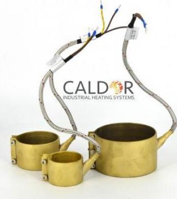 Rezistenta electrica duza Nozzle Heaters 90 x 40 x 550 w de la Caldor Industrial Heating Systems Srl