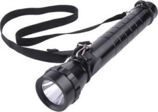 Lanterna Vipow din aluminiu 3W led Cree cu baterii R20 de la Electro Supermax Srl