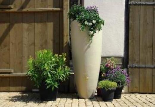 Rezervor de perete apa de ploaie Sand Beige 300 litri de la Progreen Concept Ag SRL