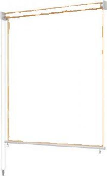 Jaluzea rulou de exterior, 140 x cm, bej