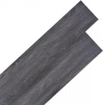 Placi pardoseala 18 buc. PVC 5,26 m2, negru