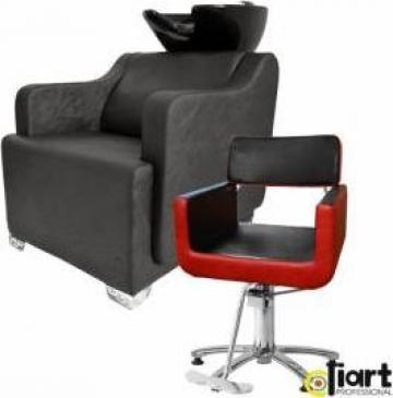 Echipament dotare salon coafura Elegance KoMbo Black&Red de la Sc Diart MP Srl