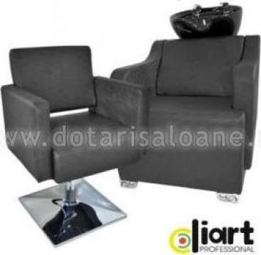 Mobilier salon de coafura Black Elegance de la Sc Diart MP Srl