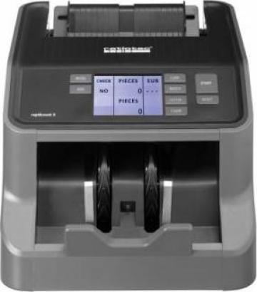 Masina de numarat bancnote Ratiotec Rapidcount S200 de la Scale Expert Srl