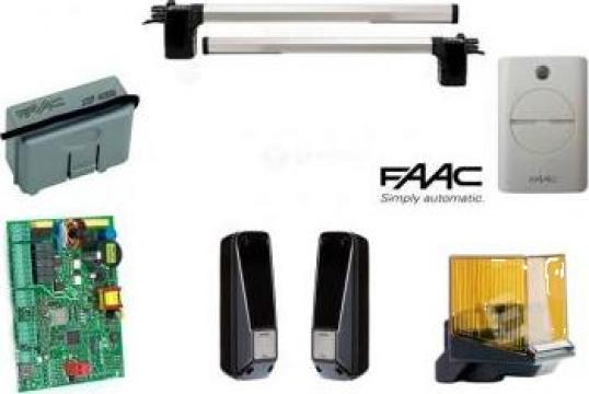 Kit automatizare poarta batanta Eco Star Faac 412 de la Prosystem Srl