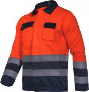 Jacheta reflectorizanta / portocaliu