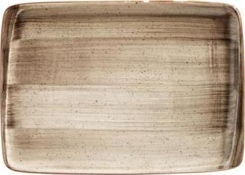 Platou dreptunghiular din portelan Bonna colectia Terrain de la Basarom Com