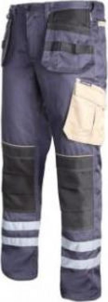 Pantalon lucru mediu-gros cu reflectorizant