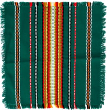 Fata de masa din bumbac 120x160cm verde de la Basarom Com
