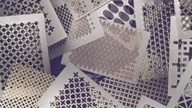 Tabla din otel zincat cu gauri patrate 1,5 mm de la Electrofrane