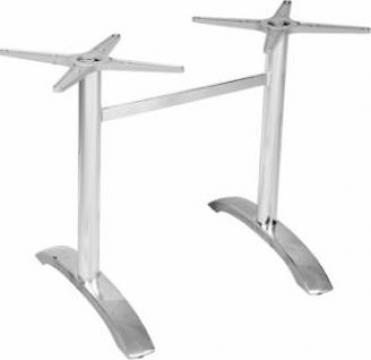 Picior, baza din aluminiu pentru masa Raki 60x68xh72cm