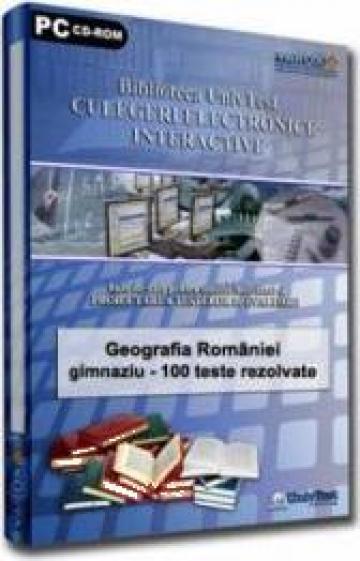 Soft culegere Geografia Romaniei TN de la Eduvolt