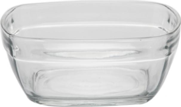 Caserola patrata policarbonat Raki 11x11cm 300ml de la Basarom Com