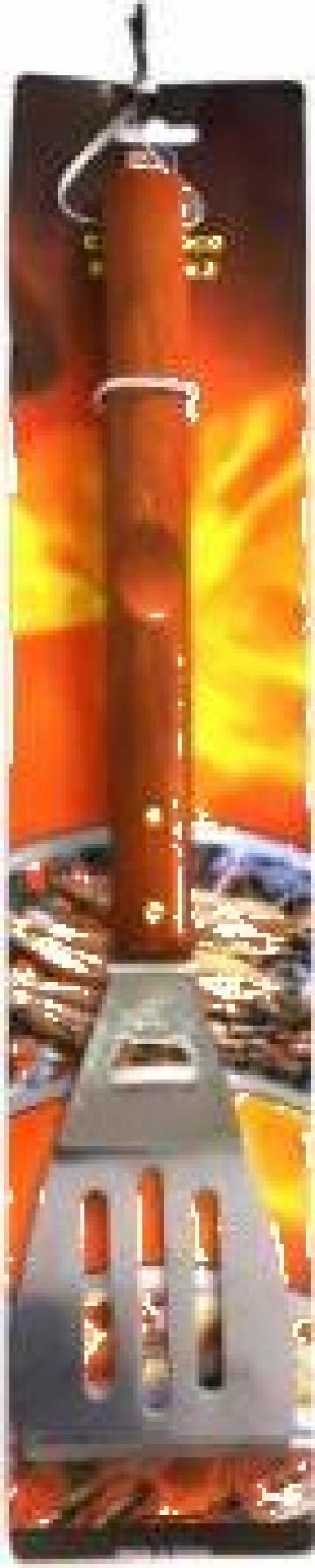 Paleta pentru gratar Raki maner lemn de la Basarom Com
