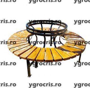 Banca de parc 925 de la Ygrocris Dorally Steel Srl