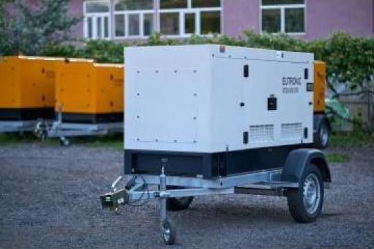 Inchiriere generator curent 16 KW (20KVA) de la Inchirieri Remorci Berceni